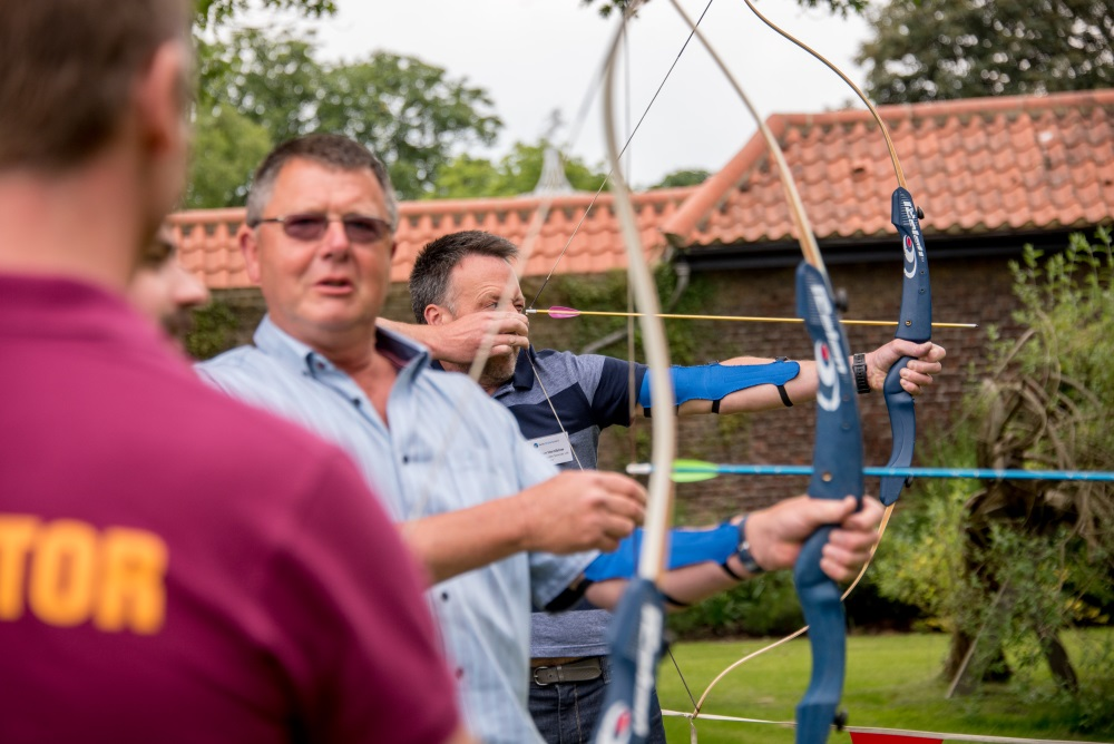 Archery Entertainment at Really Simple Systems Conference