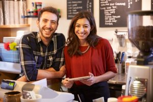 Small business using email marketing