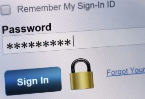 Changing a password for renewed security