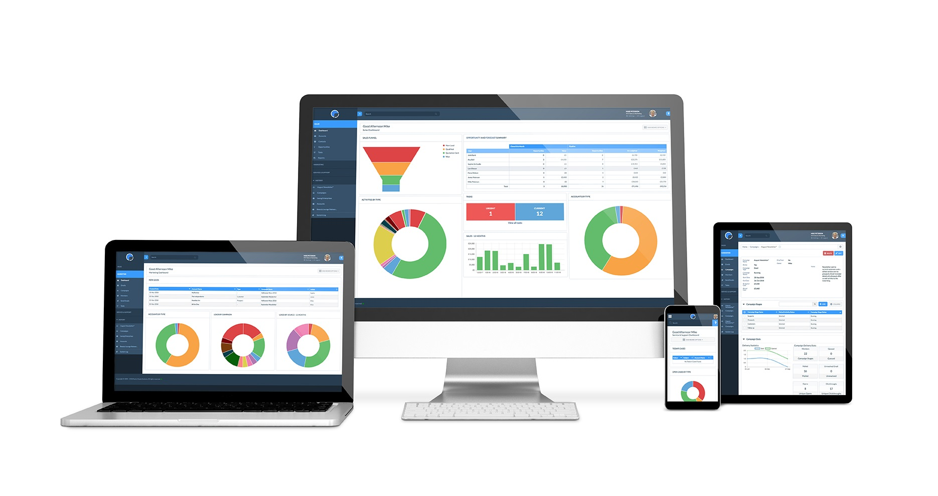 New dashboard widgets in your CRM