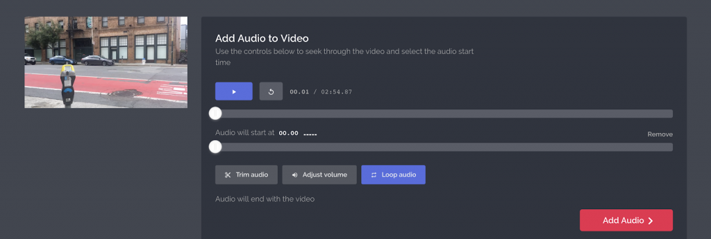 sound editing your video