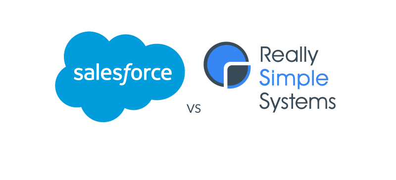 Salesforce - Really Simple Systems comparison