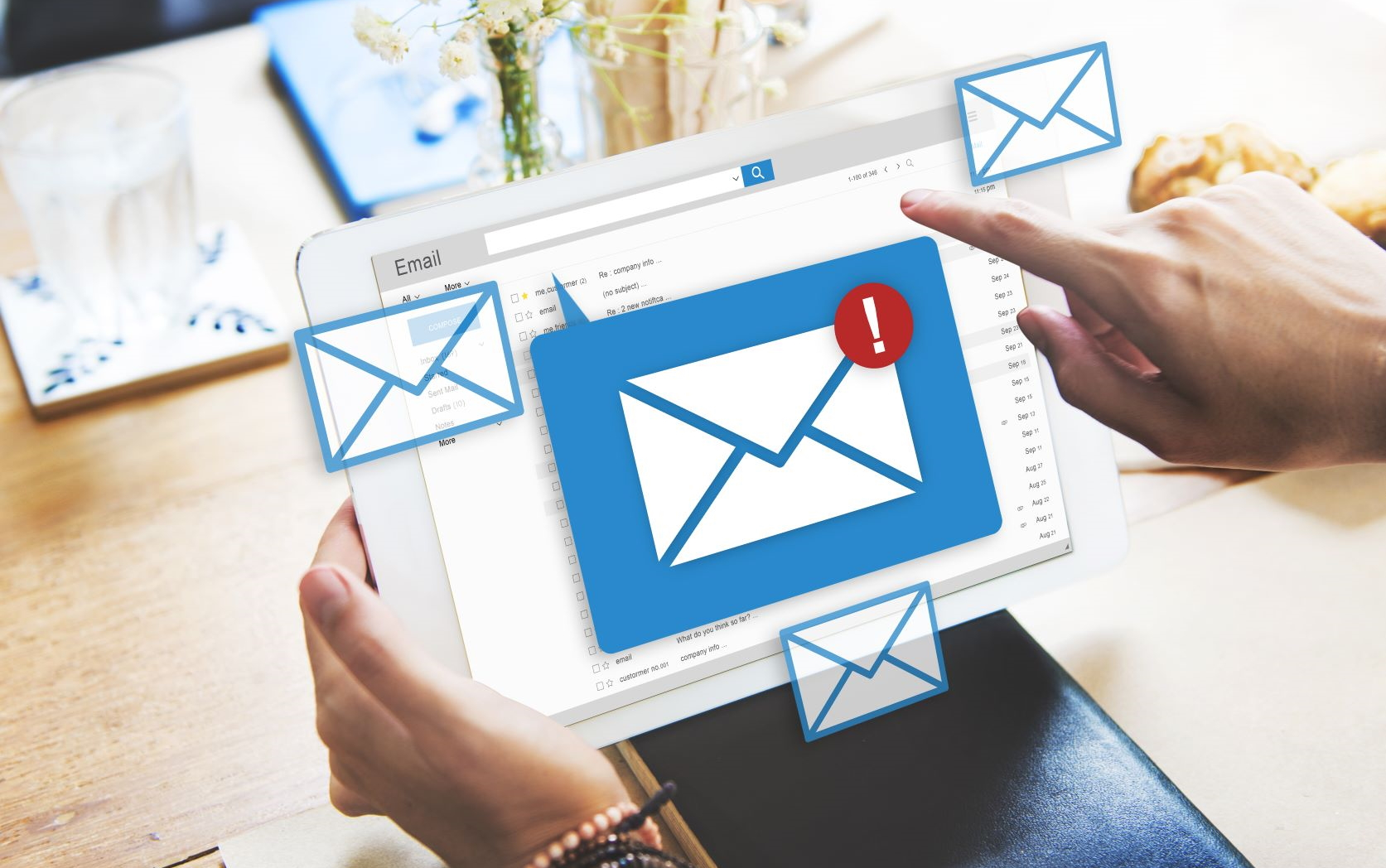 Email mailsync CRM feature