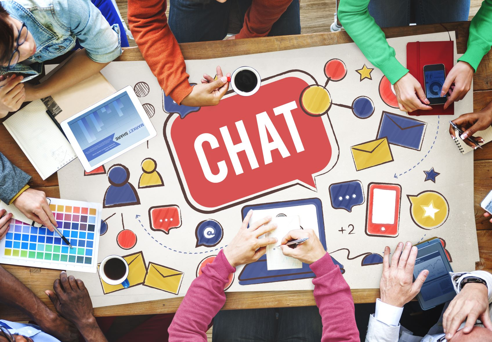 Using chat software to improve customer experience